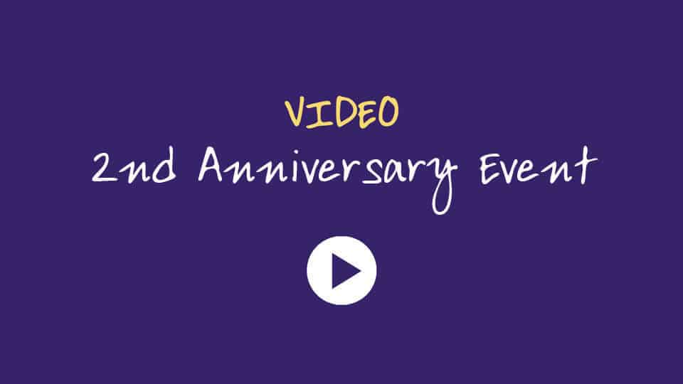 Click to watch our 2nd Anniversary Networking Event Video